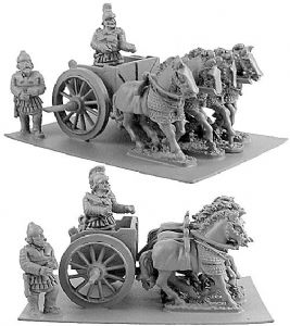 ANC20087 - Persian Scythed Chariot w/ choice of Two Crew